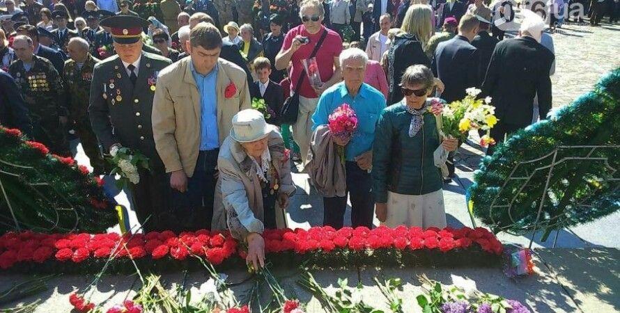 Празднование 9 мая в Днепропетровске / Фото: 056.ua