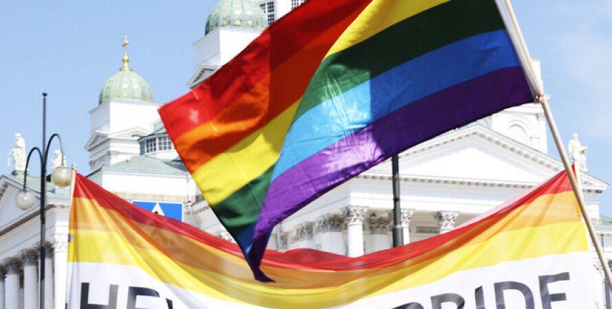 Демонстрации в поддержку однополых браков в Хельсинки / Фото: Cliff Gilmore/flickr.com