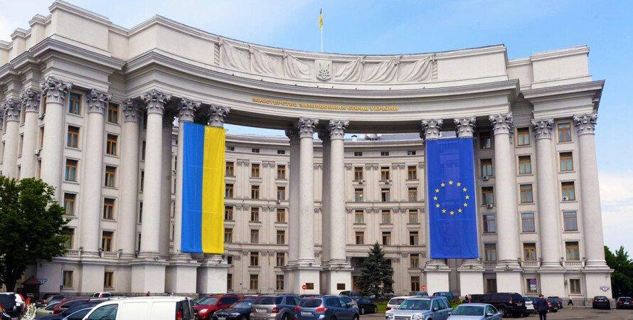 МИД Украины, Россия, граница, российские войска, скопление, запрос,