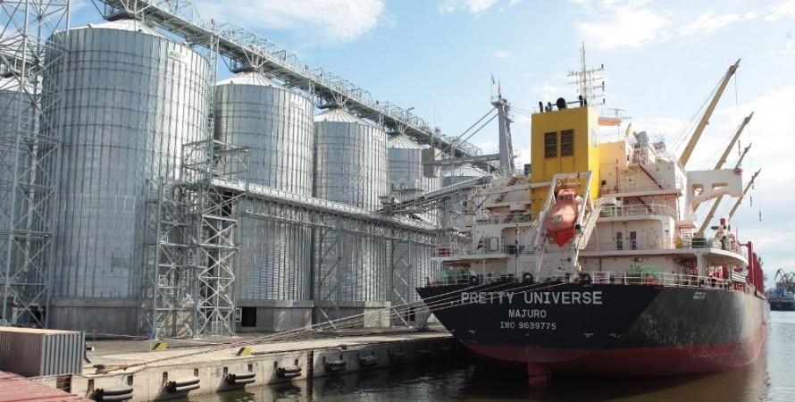 зерно, урожай, порт, фото