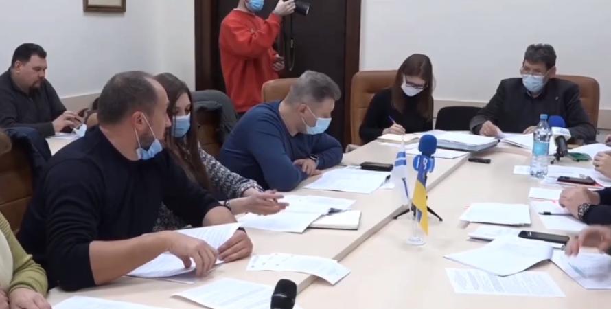 николаев, горсовет, языковой скандал, конфликт, депутаты, опзж