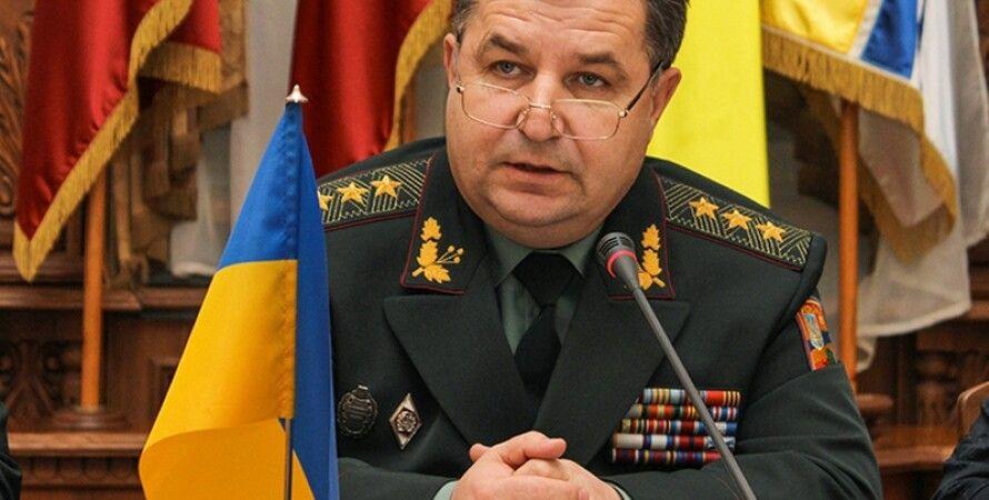 Степан Полторак / Фото: пресс-служба Минобороны