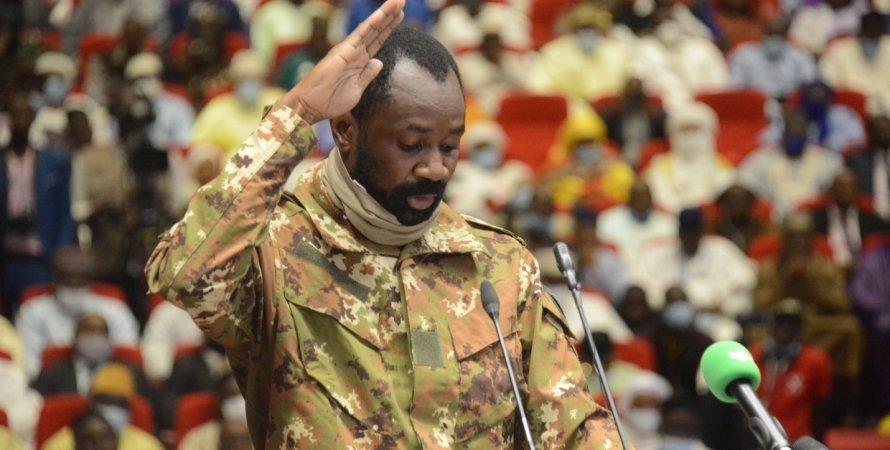 Ассими Гойта, президент Мали Ассими Гойта, полковник Ассими Гойта