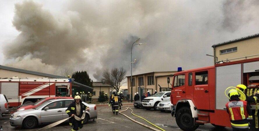Взрыв на газопроводе в Австрии / Фото: utg.ua