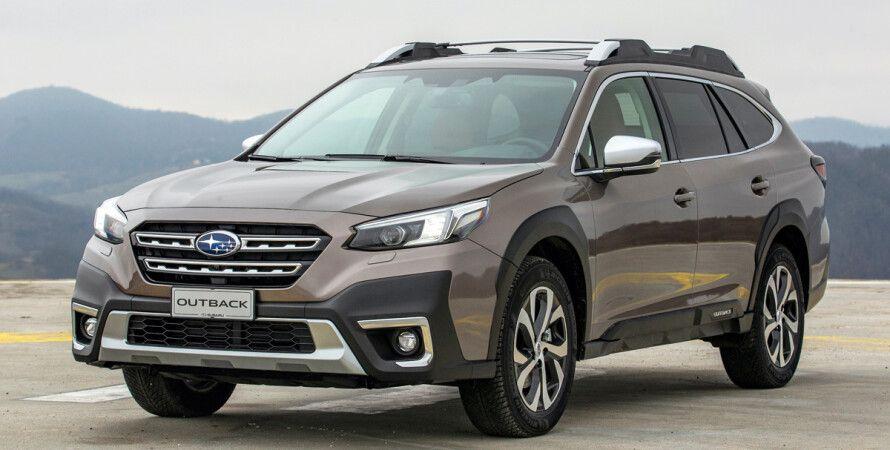 Новый Subaru Outback добрался до Европы, скоро в Украине
