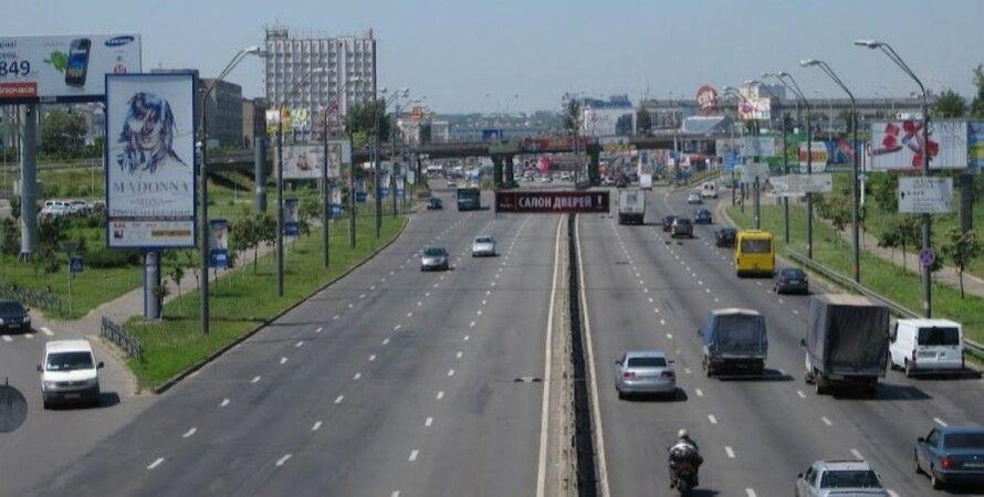 Киев, улицы, скорость движения, ограничение, отмена,