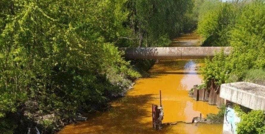 Киев, река Лыбедь, загрязнение, ядохимикаты,