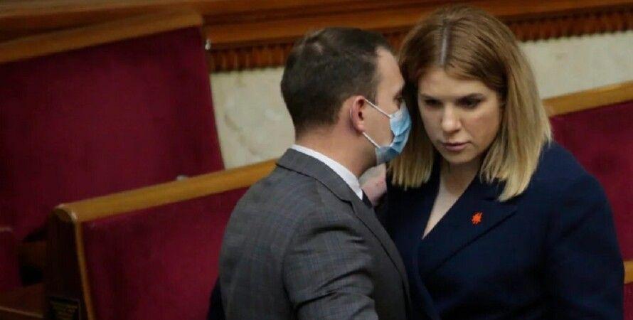Кира Рудык, голос, партия, исключение из партии, раскол в голосе