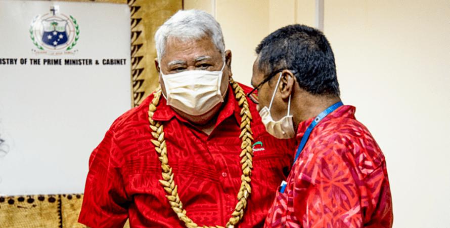 Премьер-министр Самоа Туилаепа Саилеле Малиелегаой