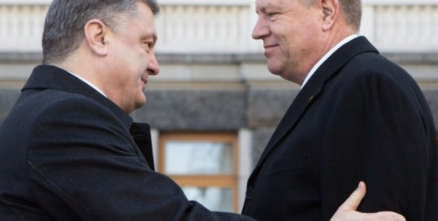 Петр Порошенко и Клаус Йоханнис / Фото пресс-службы президента Украины
