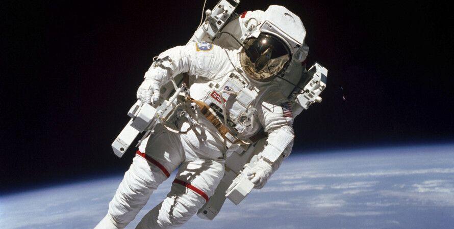 астронавт, космос, космическое излучение