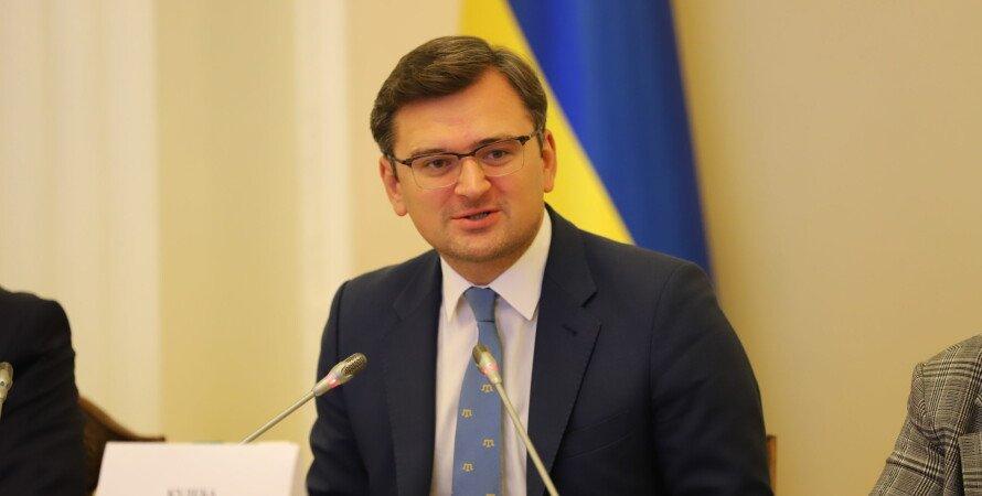 дмитрий кулеба, министр иностранных дел, взрыв склада боеприпасов в чехии