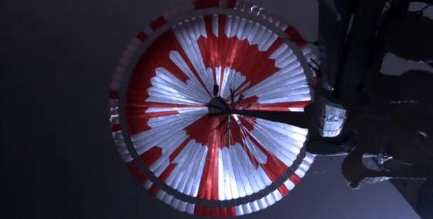 марсохід, парашут, послання, NASA, Perseverance