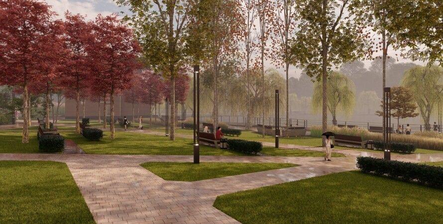 Голосеевскй парк, Киев