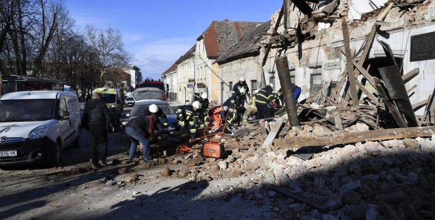 Хорватия, землетрясение, гуманитарная помощь, зеленский, владимир зеленский