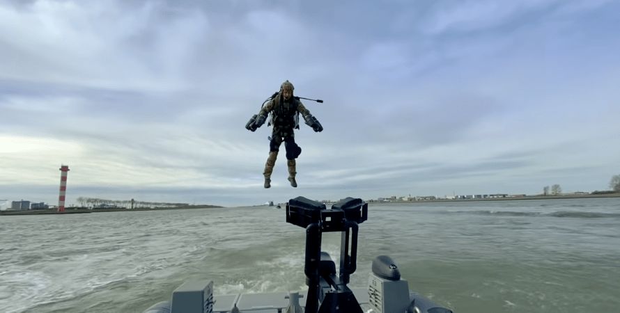 учения нидерландов, джетпаки в армии, реактивные ранцы в нидерландах