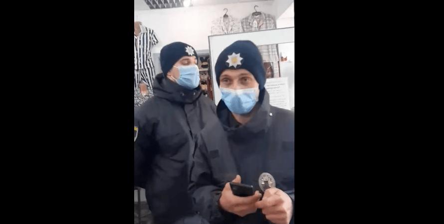 Чернівці, поліція, карантин, магазин, фото