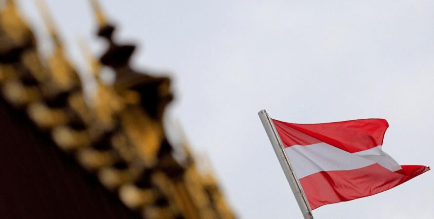Вена, австрия, флаг