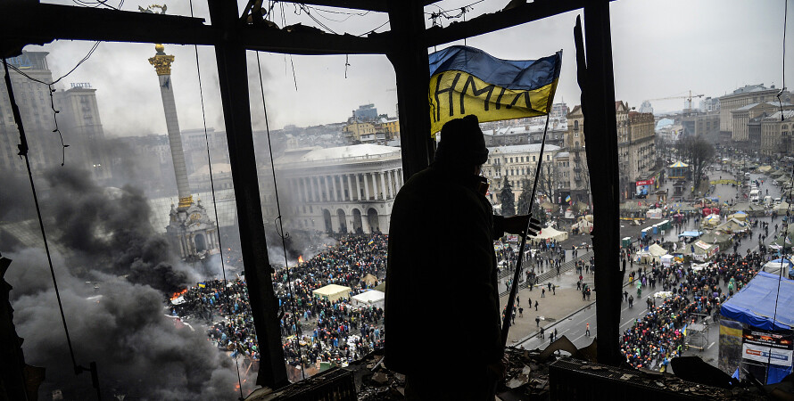 Майдан 2014, хроника, репортажное фото