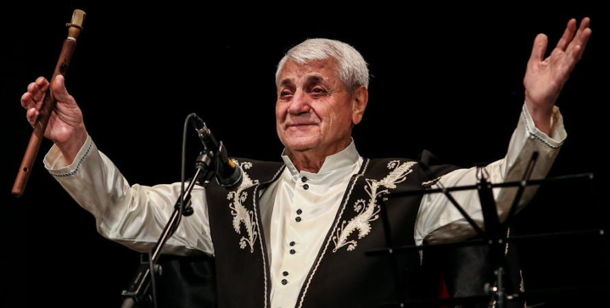Дживан Гаспарян, онук, музикант