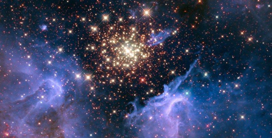 космос, зірки, галактики, знімок