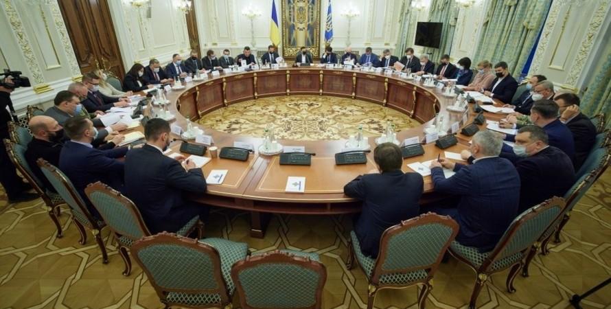 Кабмин, СНБО, санкции против физических и юридических лиц