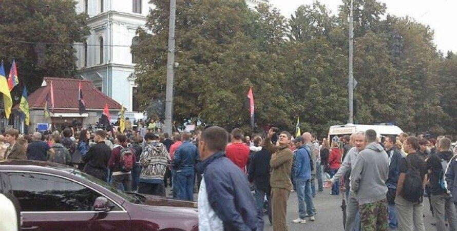 Митинг под Генштабом / Фото: Александр Рудоманов