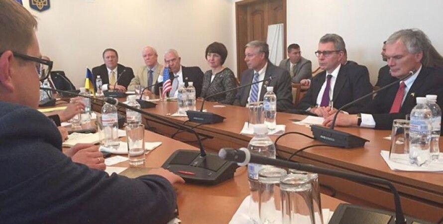 Встреча украинских депутатов с делегацией конгрессменов / Фото: Facebook