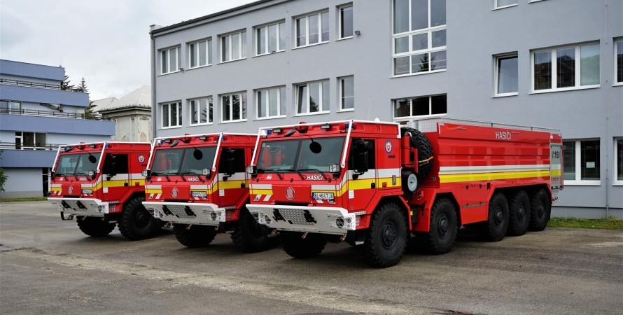 Спецавтомобили Tatra для борьбы с лесными пожарами