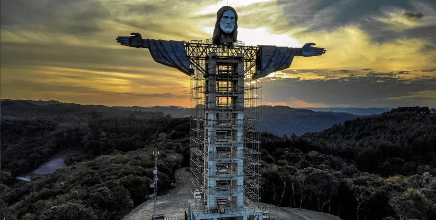 вторая статуя христа спасителя, христос-спаситель в бразилии