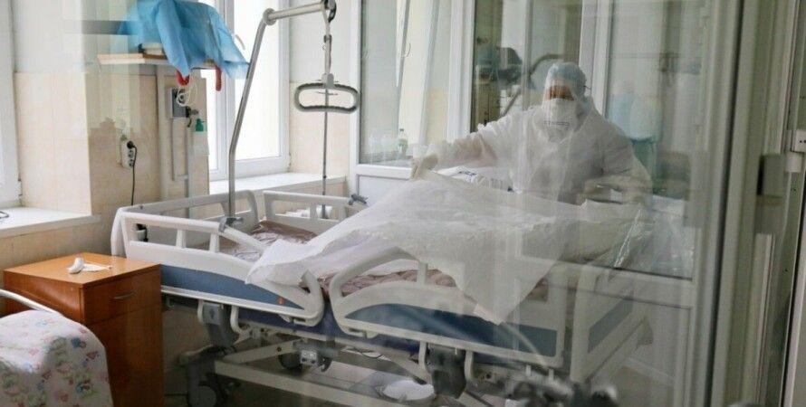 коронавирус, украина, больница