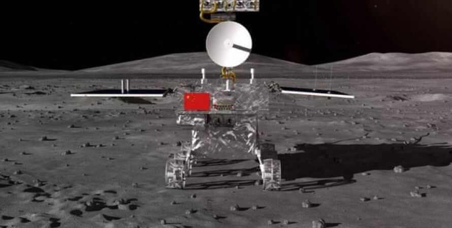 Художественное изображение лунохода Chang'e 4. CASC