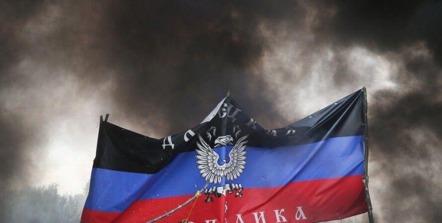 "Флаг ""ДНР"" / Фото: Getty Images"