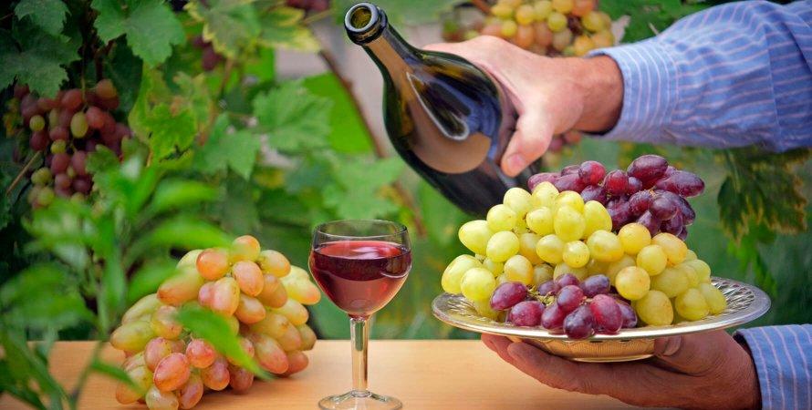 украинское виноделие, какое вино пьют украинцы