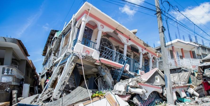 гаїті, землетрус, руйнування