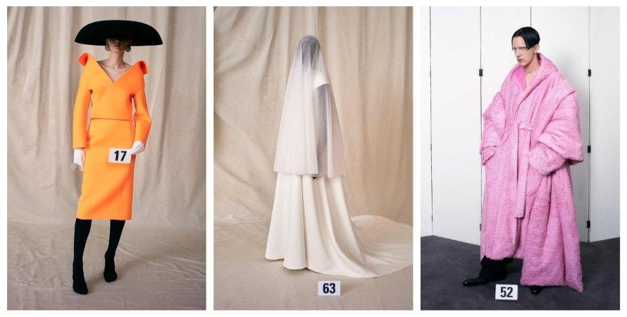 Balenciaga, показ, Неделя высокой моды