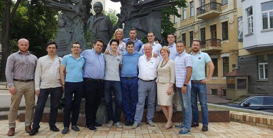Актив политической партии Хвыля / Фото: facebook.com/davit.sakvarelidze?fref=ts