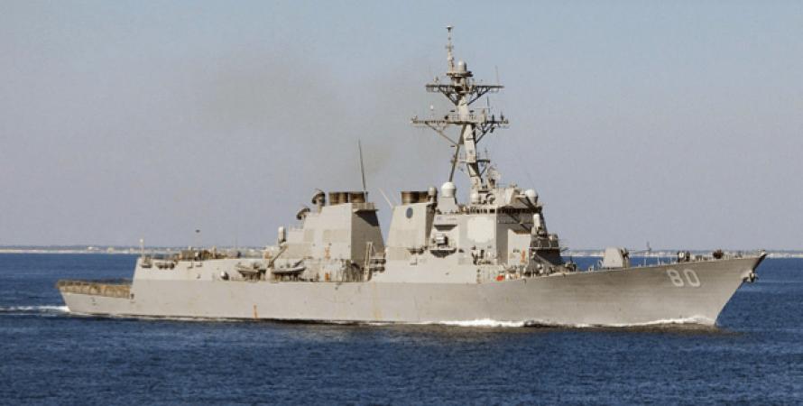 """Эсминец """"Рузвельт"""", заход в Черное море, ВМС США, пролив Босфор, эскалация у границ Украины"""