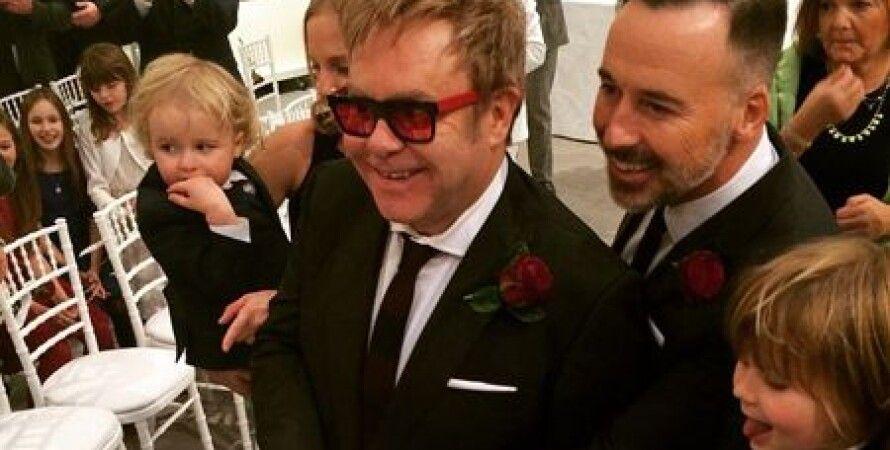 Элтон Джон и Дэвид Ферниш / Фото: Instagram