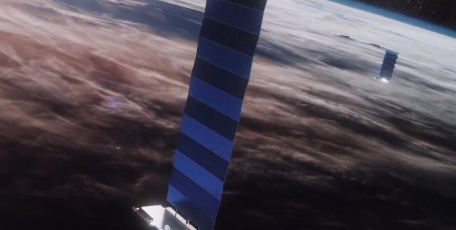 Супутники, Starlink, Ілон Маск