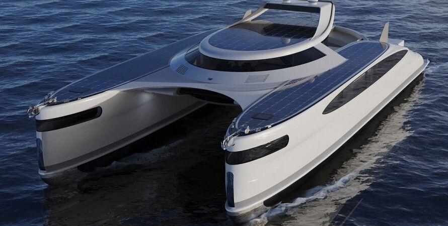 Lazzarini Design Studio, яхта