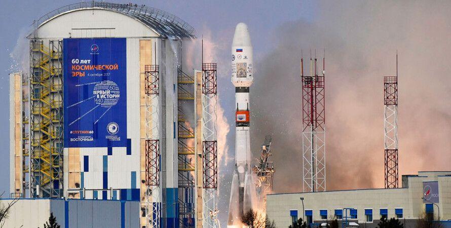 """Ракета-носитель """"Союз-2.1б"""" с разгонным блоком """"Фрегат"""" / Фото: ТАСС"""