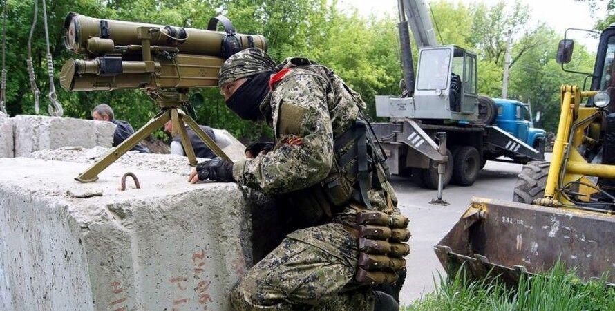 Боевики в Донбассе / Фото: Ridus.ru, Андрей Краснощеков