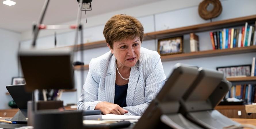 Директор-распорядитель МВФ, Кристалина Георгиева, фото