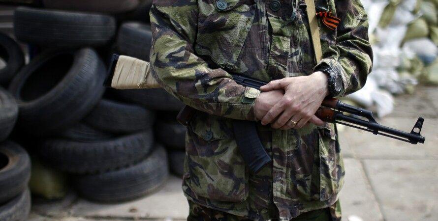 Боевики в Донбассе / Фото: kvedomosti.com