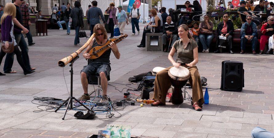 Уличные музыканты / Фото: etceterini.livejournal.com