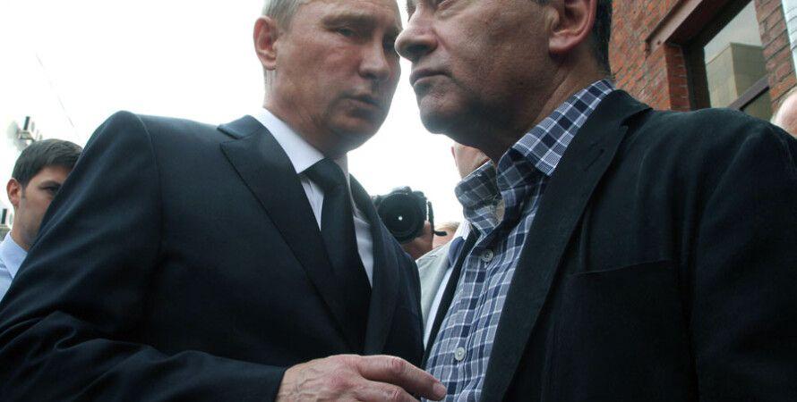 Владимир Путин и Аркадий Ротенберг / Фото: Getty Images