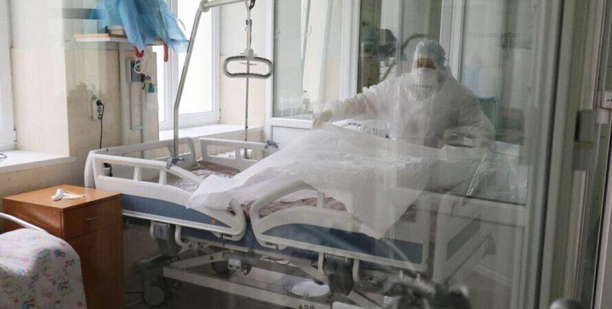 врачи, палата, статистика, коронавирус, covid-19, пандемия covid-19, украина вышла в лидеры