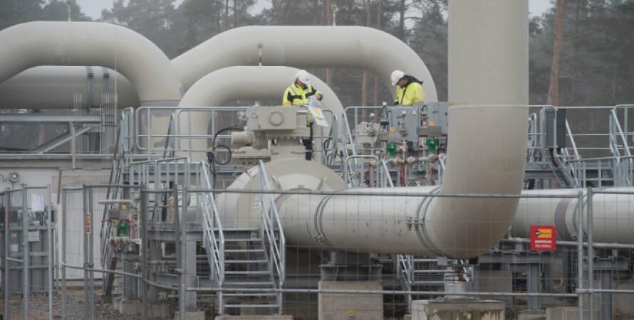 газ, трубопровод, европа, газ в европе