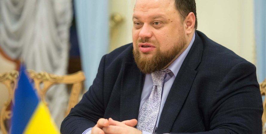 Руслан Стефанчук, законопроект, верховная рада, интервью, олигархи